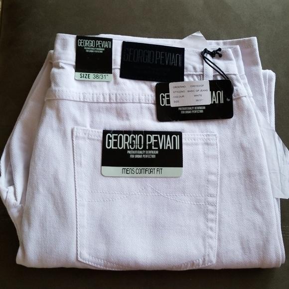 60cbd43e Georgio Peviani Jeans   White Denims 3831   Poshmark